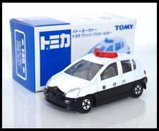 TOMICA TOYOTA VITZ POLICE CAR 1/57 TOMY DIECAST CAR 110 NEW