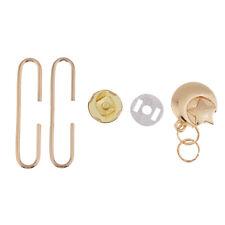 5cm Taschenrahmen Taschenbügel DIY Clipverschluss + Magnetverschluss DIY