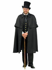 Costumes for All Occasions AA100 Cape Dickens Black