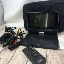 "SONY DVP-FX810 Portable DVD Player 8"" w/ Power Supply, Battery, & Remote"
