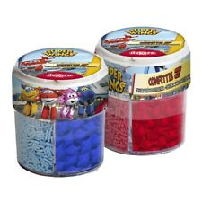 Super Wings Zucker  Dekoration Streusel Dose  Torte cupcake (100g 6,70€)