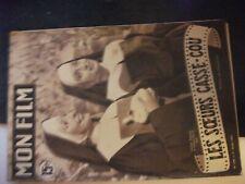 ** Mon Film n°258 Les soeurs casse cou - Richard Conte - Anne Vernon