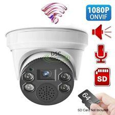 Security Wireless WIFI IP Camera 1080P Indoor Dome Built-in MIC& Speaker -ICSEE