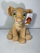 "Disney The Lion King SOFT BABY NALA LION 10"" Plush STUFFED ANIMAL Toy New NWT"