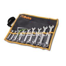Set 9 chiavi combinate Beta 42 /B9 42/B9 da 6 a 19 mm in astuccio d tela morbido