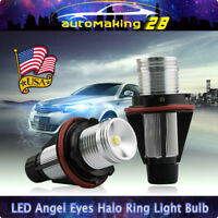 High Power Error Free CREE 5W LED Angel Eyes Halo Ring Light Bulbs For BMW E39