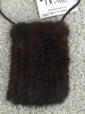 MINK FUR CELL PHONE CASE/HOLDER/PURSE/CADDY