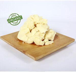 Shea Butter Unrefined Organic - 100% Pure and Natural - 100g (RMO100SHEAUNRE)