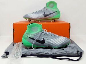 Women's Nike Magista Obra II 2 SG Pro Soccer Cleats Gray 844209-054 Sz 10