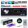 Single 1DIN AUTORADIO BLUETOOTH FREISPRECH-EINRICHTUNG USB SD AUX KFZ MP3 REMOTE