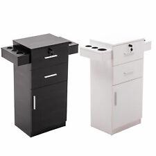 Locking Beauty Salon Storage Cabinet  Hair Dryer Holder Stylist Equipment 2021