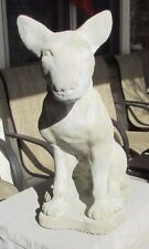 New listing Concrete Bull Terrier Statue / Memorial / Pet Grave Marker