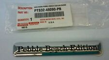 LEXUS OEM FACTORY PEBBLE BEACH EDITION BADGE 2009 RX350 EMBLEM PTS32-48090-PB