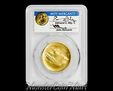 2015-W $100 Gold Liberty High Relief PCGS MS70 FIRST STRIKE - MOY & MERCANTI !!