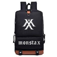 KPOP MONSTA X Backpack Shoulder Bag Bookbag SHOWNU JOOHEON HYUNGWON WONHO