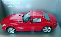 MONDO MOTORS 1:18 AUTO IN METALLO MERCEDES BENZ SLS AMG ROSSA  501069