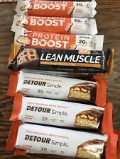 Detour Protein Bars Caramel Peanut/Cookie Dough Caramel Crisp 15ct (5/19-3/20)