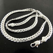 NECKLACE PENDANT CHAIN GENUINE REAL 925 STERLING SILVER S/F SOLID ANTIQUE DESIGN