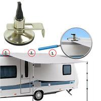 2x Klappsauger Schleusenstab | Camping Bus | Vorzelt | Sonnensegel | Saugnapf