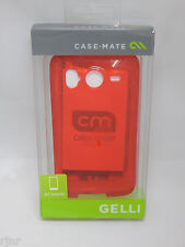 Case-Mate Gelli Flexible Case for HTC Desire HD / Inspire 4G Red NEW in Box