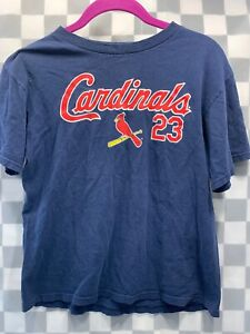 St Louis CARDINALS #23 FREESE Baseball MLB Youth T-Shirt Size L