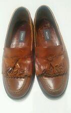 Bally tassle loafers leather    Shoes Size 6.5 UK VTG euro 40.5