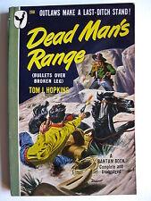 Tom J. Hopkins   Dead Man's Range   Bantam edition: November 1948   pb