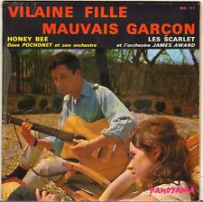 "LES SCARLETS ""VILAINE FILLE MAUVAIS GARCON"" 60'S SP PANORAMA 117 GAINSBOURG !"