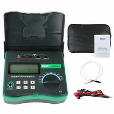 Digital Resistance Circuit Electrical Tester Micro Ohm Meter Temperature Sensor