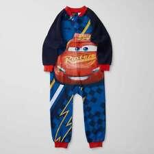 Boys size 8 DISNEY PIXAR CARS sleep suit all in one pyjamas zip up NEW pjs