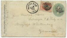 USA 1883 - Letter Napoleon to Sulz / Germany