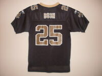 Reggie Bush New Orleans Saints Jersey Reebok Youth L 14 - 16