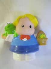Fisher Price Little People EDDIE w/ EASTER EGG BASKET of EGGS Spring Holiday