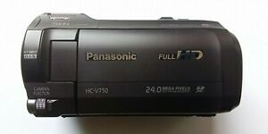 Panasonic HC-V750  24,0 MP Camcorder - Schwarz