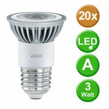 20x LED 3 Watt Leuchtmittel neutral weiss E27 Lampen 115 Lumen 4200 Kelvin EEK A