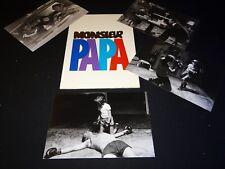 MONSIEUR PAPA claude brasseur Nathalie Baye dossier presse cinema + photos 1977