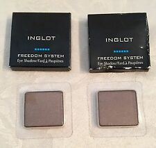 LOT OF (2) INGLOT FREEDOM SYSTEM EYE SHADOWS: 409 PEARL~GREAT PRODUCTS!
