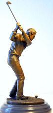 Statua in Bronzo nell'artigianato fabbricati bronzo Giocatore di golf