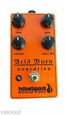 Acid Burn 4-Knob Overdrive Guitar Pedal by YellowSquash Sounds Labs LLC