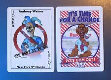 JOKER Anthony Weiner Cartoon-Politically Incorrect Obama-2011 Swap Playing Card