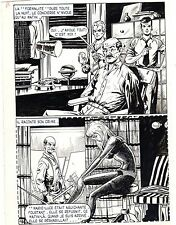 FLASH ESPIONNAGE PLANCHE ORIGINALE AREDIT PAGE 19