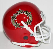 USFL New Jersey Generals Custom Mini Helmet with Metal Face Mask