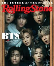 Rolling stone June 2021 THE FUTURE OF MUSIC ISSUE BTS Nonstop Triumphs of world