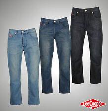 New Mens Designer Lee Cooper Classic Regular Jeans Trousers Size Waist 30-40