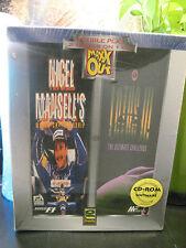Nigel Mansell's World Championship Racing CD-ROM Game NIP!