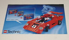 LEGO TECHNIC INSTRUCTION MANUAL BOOKLET ONLY IDEA BOOK TECHNIC RACER 8024