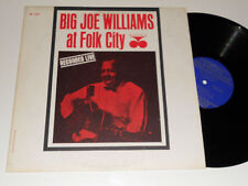 BIG JOE WILLIAMS At Folk City NM- BLUESVILLE 1067 RVG mono DG