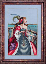 Mirabilia Designs - MD113 - The Red Lady Pirate Chart by Nora Corbett
