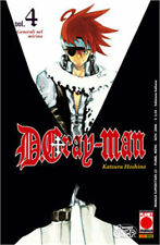 OFFERTA - Planet Manga - D Gray Man 4 - Ristampa - Nuovo !!!