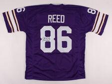 "Jake Reed Signed Jersey Inscribed ""Skol Vikings"" (JSA COA) Minnesota Vikings NFL"